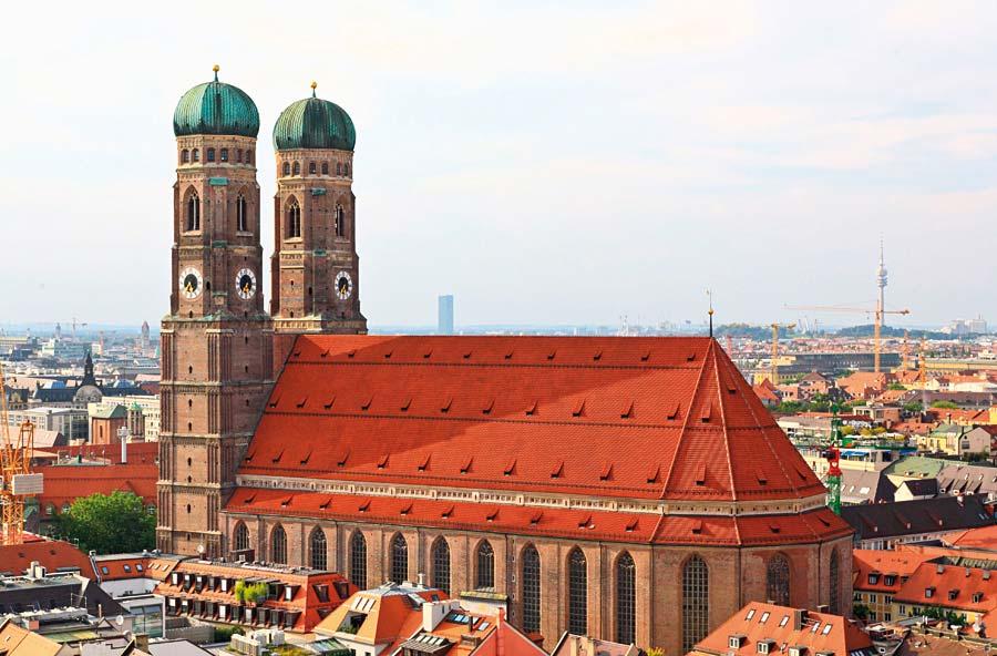 Frauenkirche, Mnichov, Německo