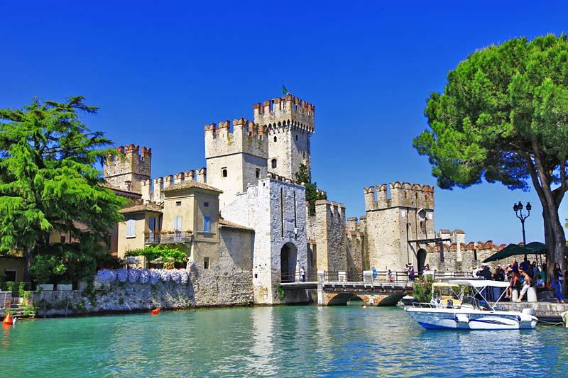 Sirmione, Lago di Garda, Itálie