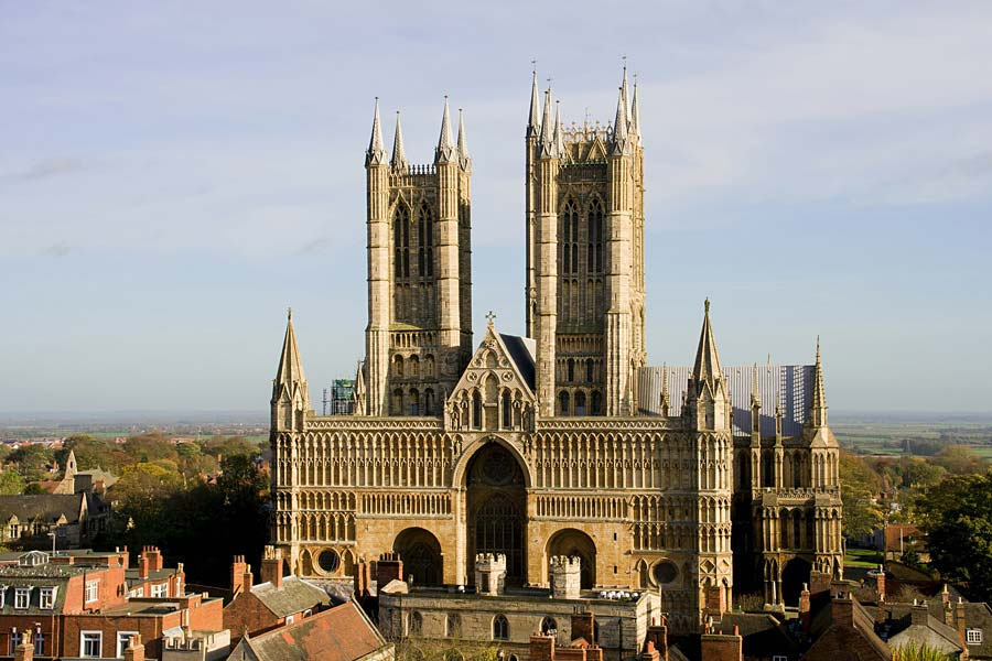 Lincoln Cathedral, Lincoln, Anglie