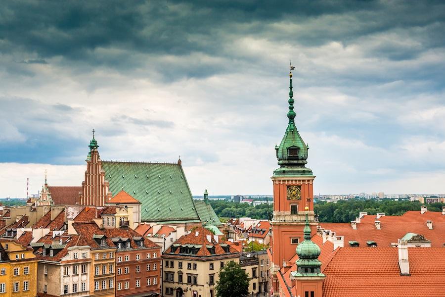 Rynek, Warsawa, Polsko