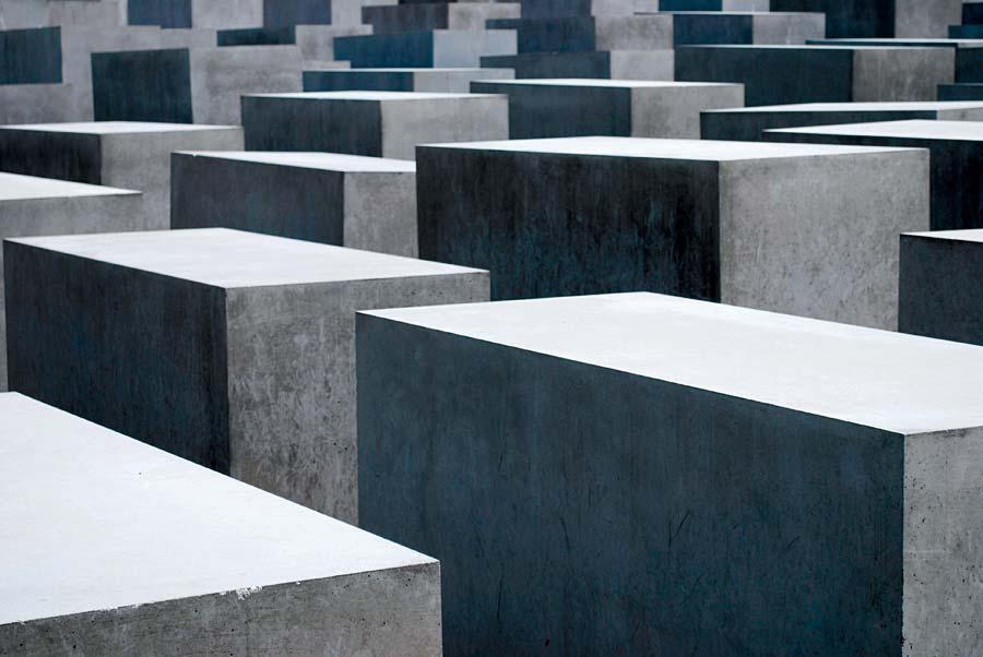 Holocaust Mahnmal (památník holocaustu), Berlín, Německo