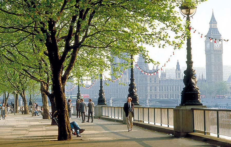 Nábřeží, Londýn, Anglie