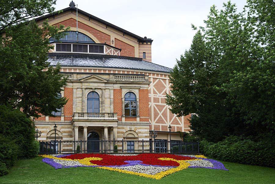 Richard Wagner Festspielhaus, Bayreuth, Německo