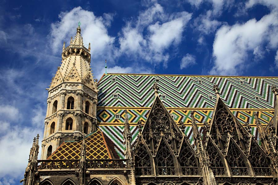 Stephansdom, Vídeň, Rakousko