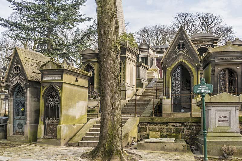 hřbitov Pere Lachaise, Paříž, Francie