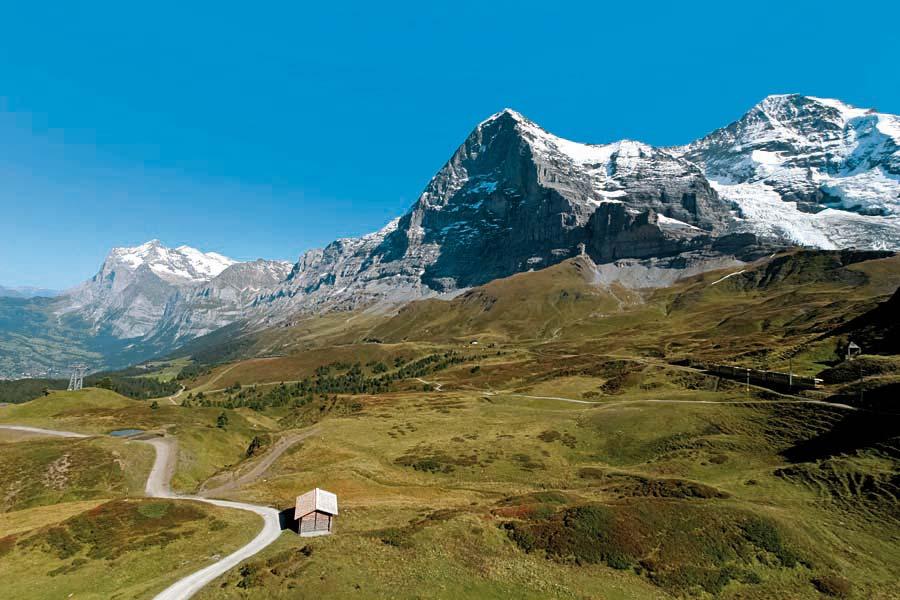 Kleine Scheidegg, Grindelwald, Švýcarsko