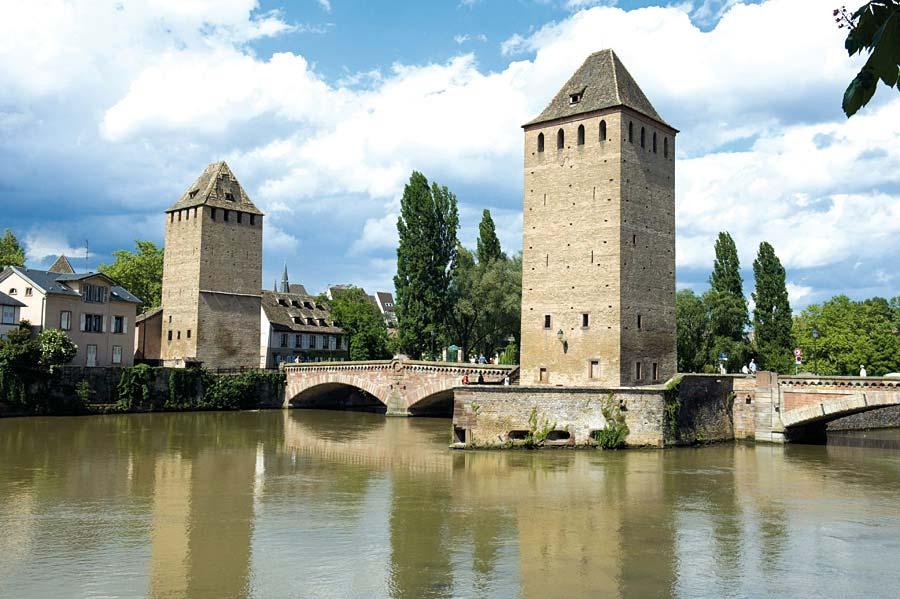 Les Ponts Couverts, Strasbourg, Francie