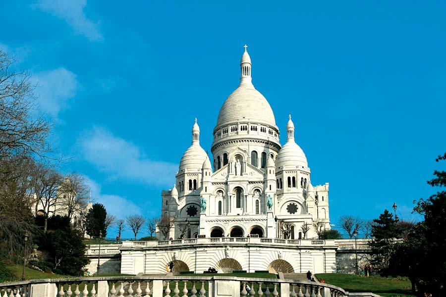 Sacre Couer, Paříž, Francie