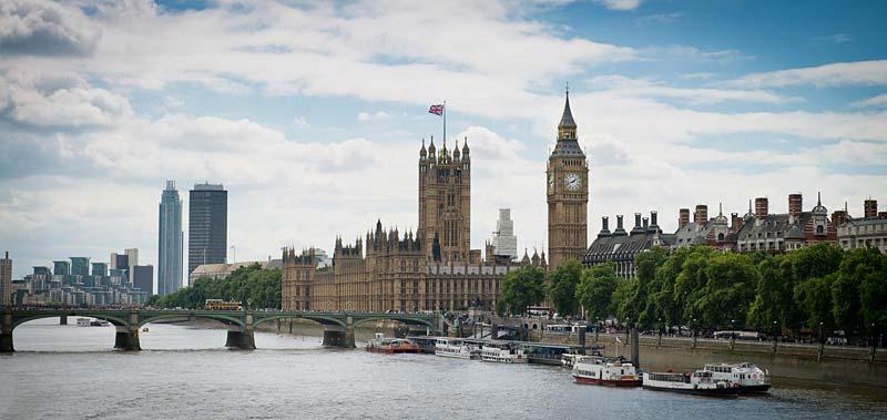 Houses of Parliament, Londýn, Anglie