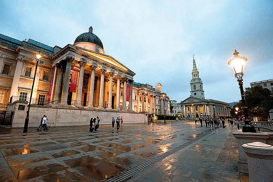 Národní galerie, Londýn, Anglie