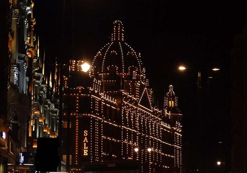 obchodní dům Harrods, Londýn, Anglie
