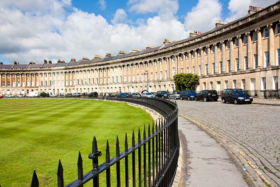 Royal Crescent, Bath, Anglie