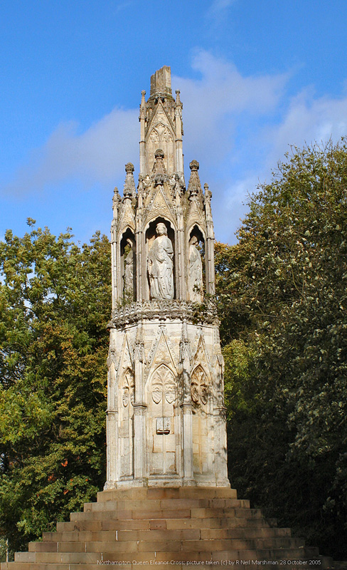 Anglie Northampton, Queen Eleanor Cross.JPG