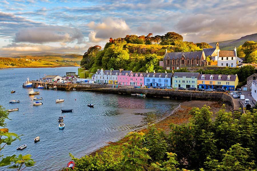 Portree, Isle of Skye, Skotsko