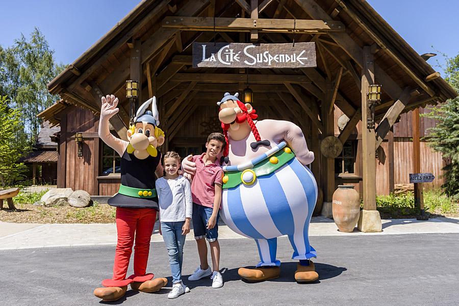 Asterix Park a Disneyland