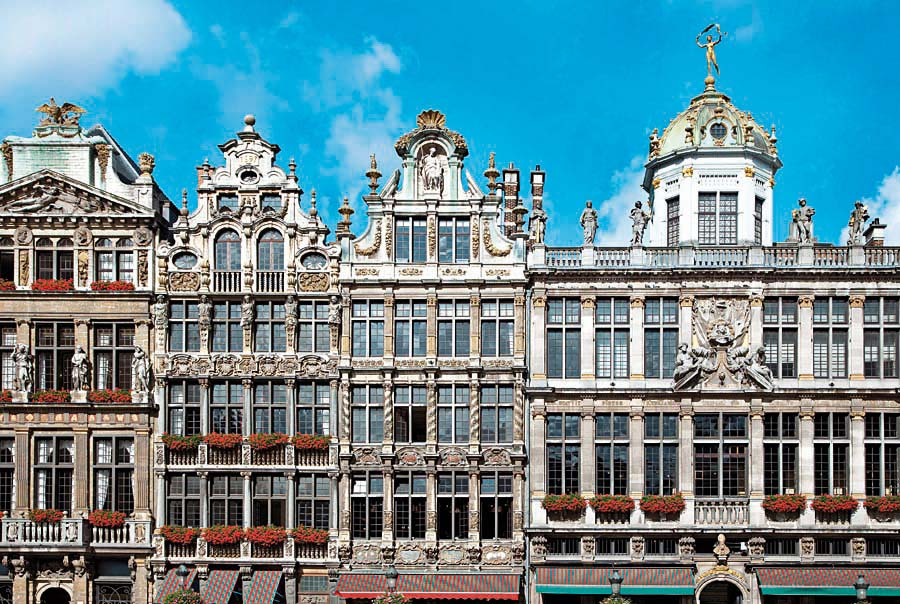 Grand Place, Brusel, Belgie