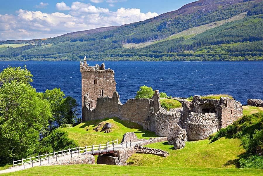 Urquhart Castle, Skotsko