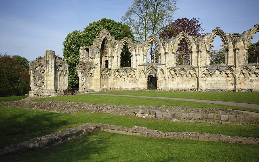 St Mary´s Abbey, York, Anglie
