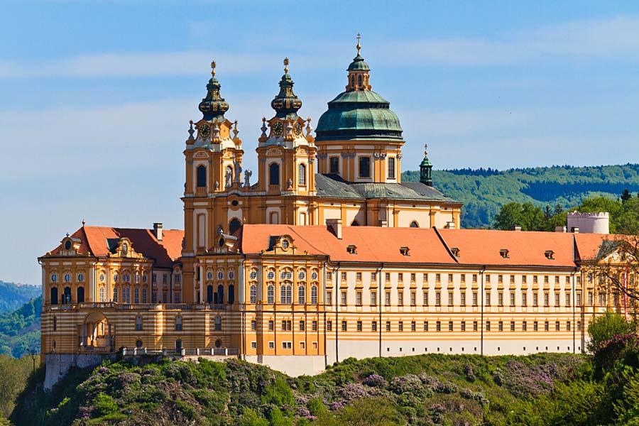 klášter Melk, Rakousko