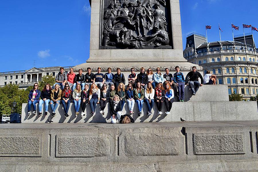 15 G Soběslav - Trafalgar Square
