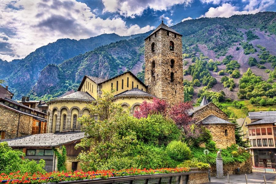 Spanelsko Andorra la Vella, Sant Esteve church