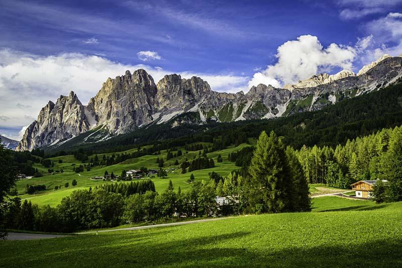 Cortina,Dolomity, Itálie