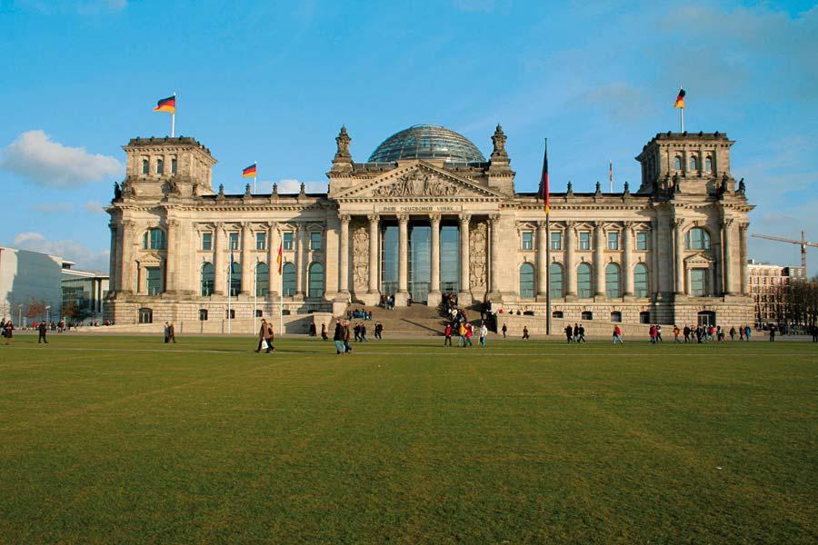 Reichstag, Berlín, Německo