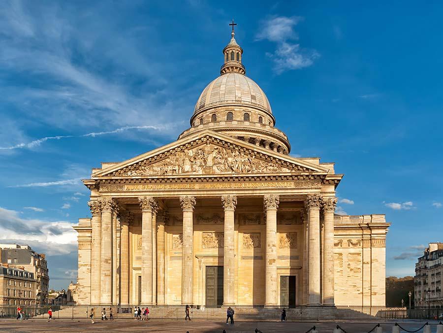 Pantheon, Paříž, Francie