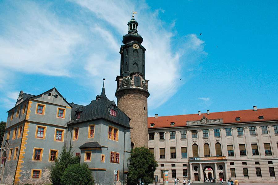 Stadtschloss Výmar, Německo