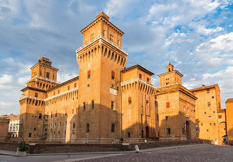 Hrad Estense, Ferrara, Itálie