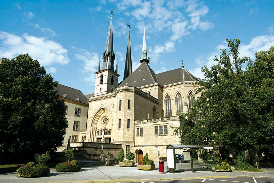 Notre Dame Cathedral, Luxembourg, Lucembursko