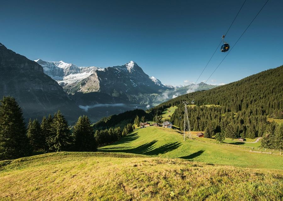 Švýcarsko Grindelwald, Firstbahn