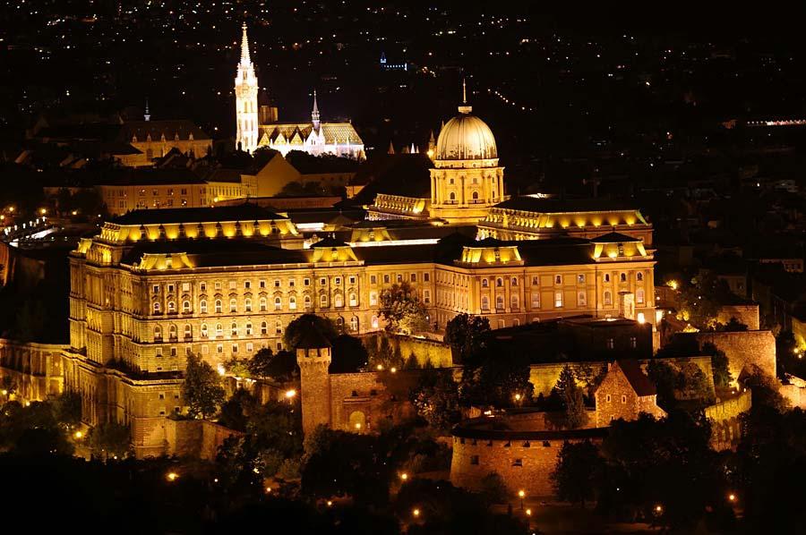 Budínský hrad, Budapešť, Maďarsko