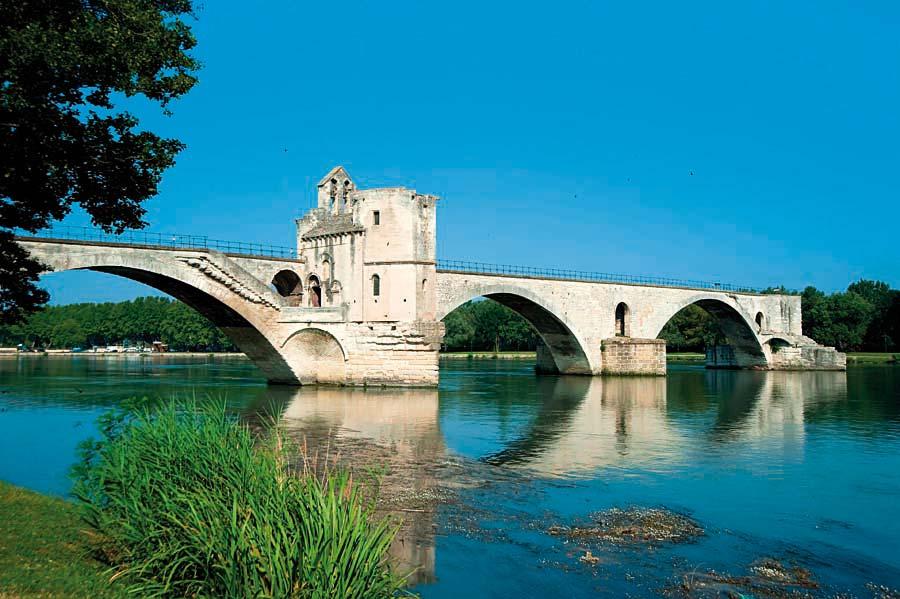 most Saint Benezet, Avignon, Francie