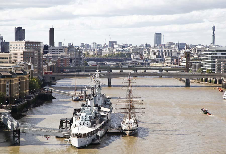 HMS Belfast, Londýn, Anglie