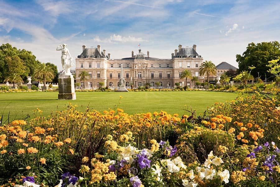 Jardin du Luxembourg, Paříž, Francie