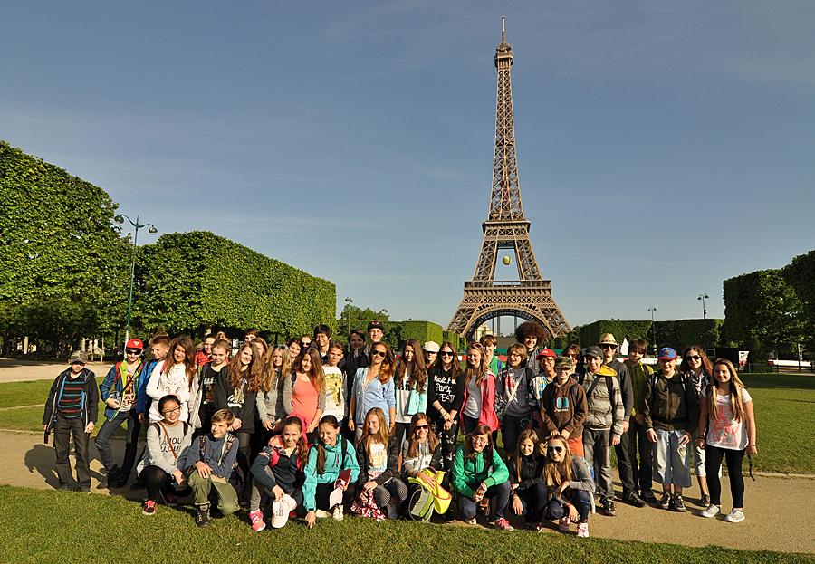 Paříž pro základní školy