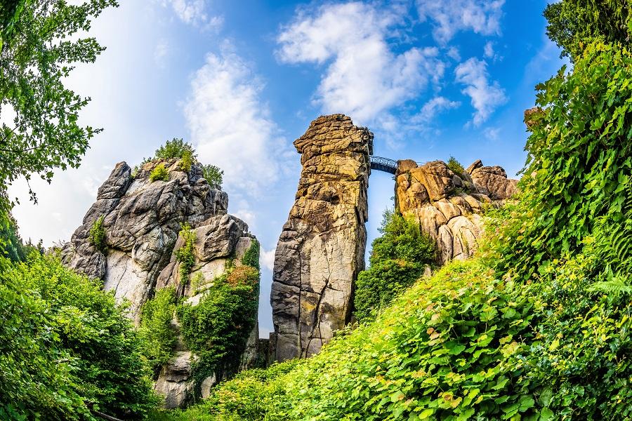 Nemecko Teutoburský les, Externsteine