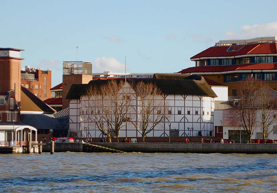 Shakespeare´s Globe Theatre, Londýn, Anglie