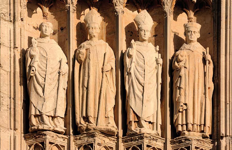 Cathedrale Notre Dame, Rouen, Francie