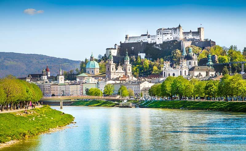 Salzburg, Rakousko