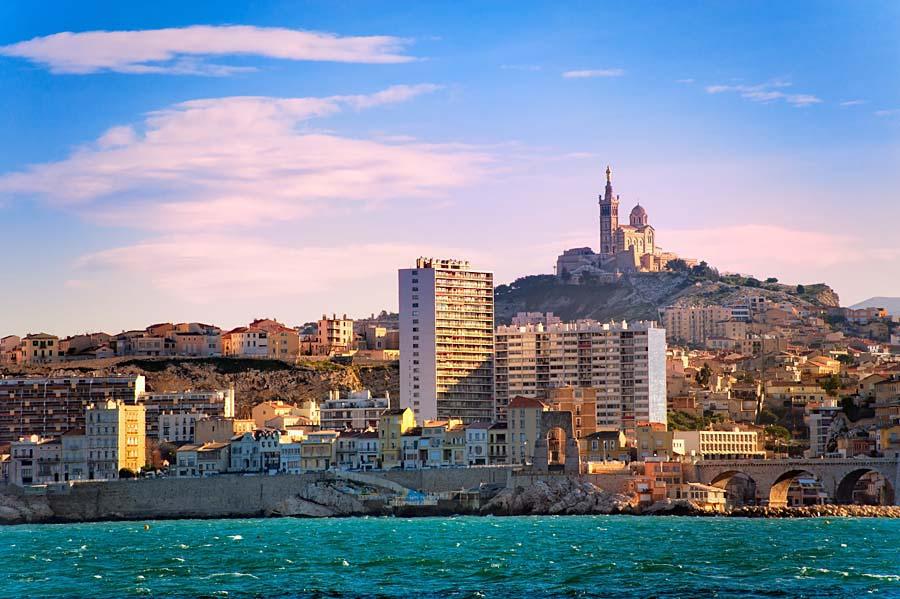 Notre Dame de la Garde, Marseille, Francie