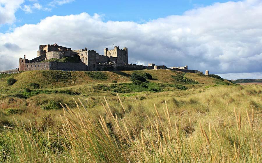 Bamburgh Castle, Anglie