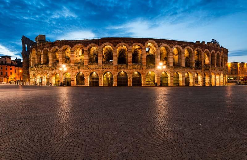 Amfiteátr, Verona, Itálie