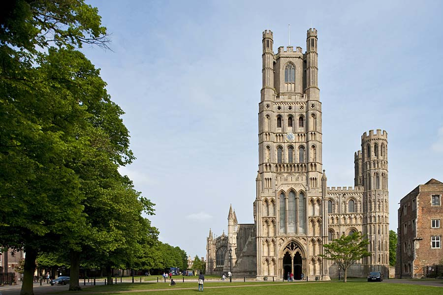 Ely Cathedral, Ely, Anglie