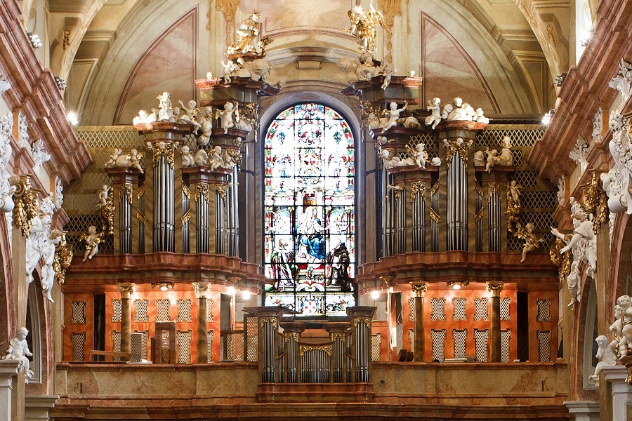 Česko, Velehrad, varhany ve velehradském chrámu