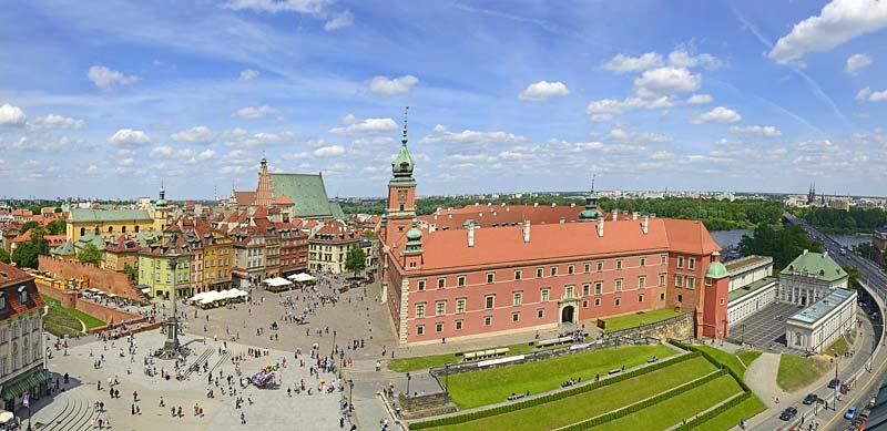 Zamek krolewski, Warszawa, Polsko