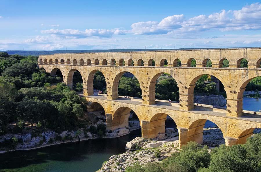 Pont du Gard, Francie