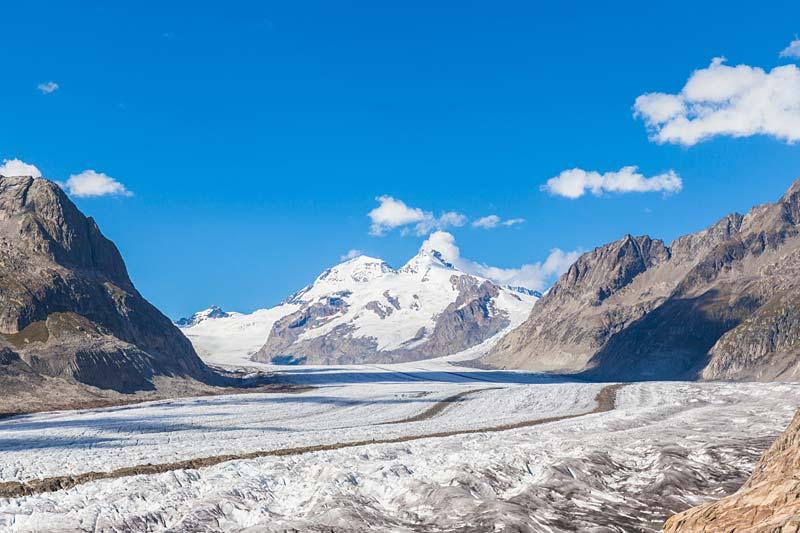 ledovec Aletsch, Jungfrau, Švýcarsko