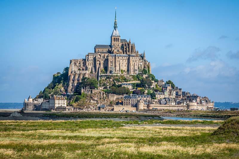Mont-Saint-Michel, Francie